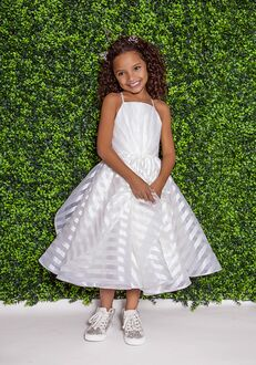 La Petite by Hayley Paige 5824-Zazie Ivory Flower Girl Dress
