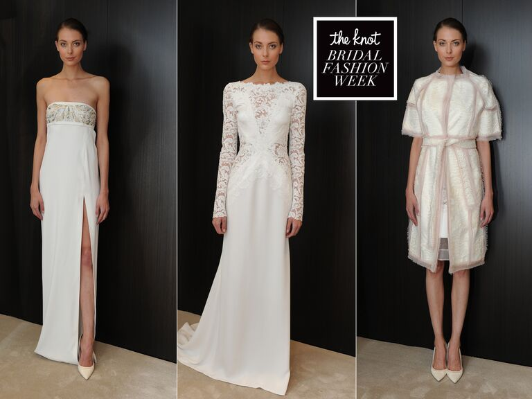 f2970814e11 J. Mendel Wedding Dresses Spring 2015 Hit Bridal Fashion Week