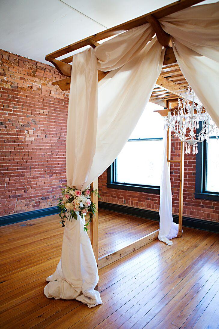 Romantic, Whimsical Wedding Arch