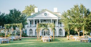 Elegant Plantation Lawn Reception