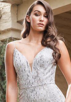Belsoie Bridesmaids by Jasmine L224010 V-Neck Bridesmaid Dress