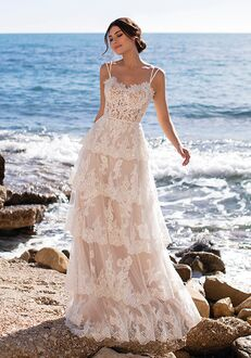 WHITE ONE MAY Ball Gown Wedding Dress