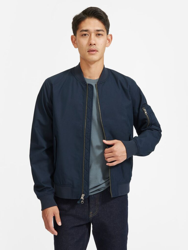 Bomber jacket cute Valentine's Day gift for him