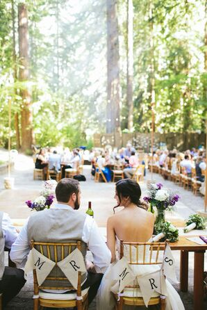 Sweetheart Table at Outdoor Reception