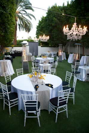 White Elegant Hanging Chandeliers