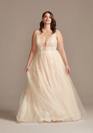 David's Bridal David's Bridal Style 9SWG836 A-Line Wedding Dress
