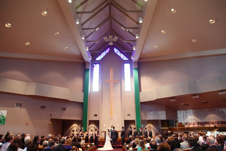Traditional Advent Lutheran Church Wedding Ceremony