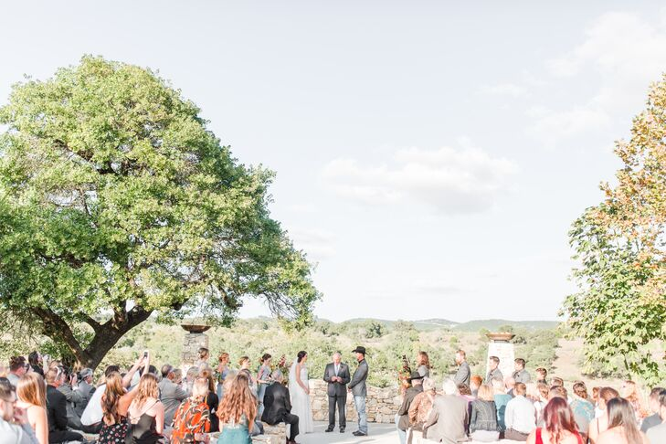 Outdoor Wedding Ceremony at Paniolo Ranch