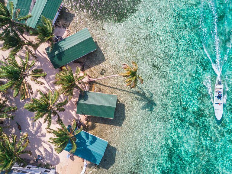 Belize, Mexico beach