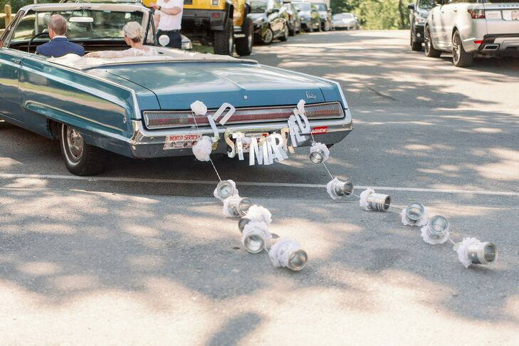 Getaway Car with Cans in Cape Cod, Massachusetts