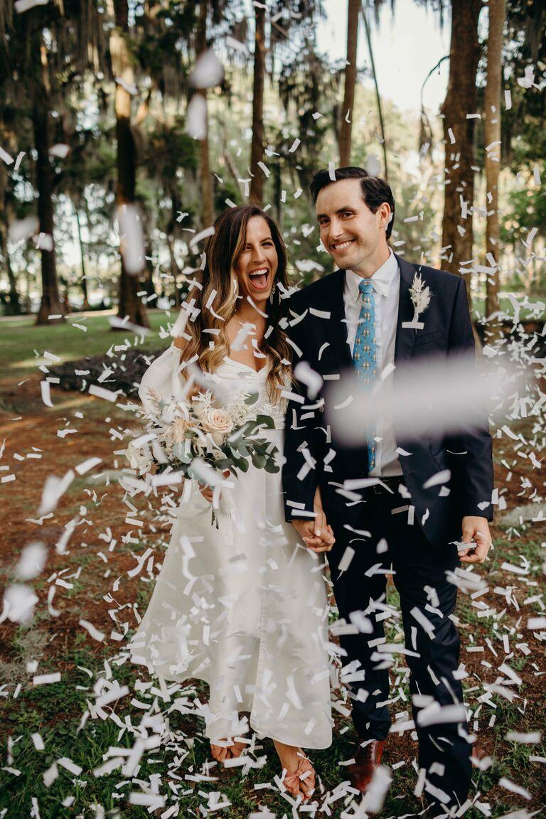 couple confetti