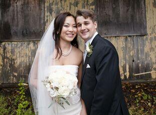 The Bride Rebecca Dai, 32, a project manager at J.P. Morgan The Groom Christopher Wurtz, 31, a portfolio manager at Millennium Management The Date Oct