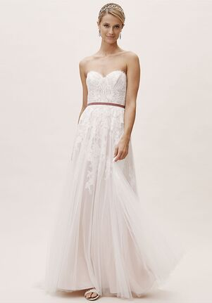 BHLDN Geranium Gown A-Line Wedding Dress