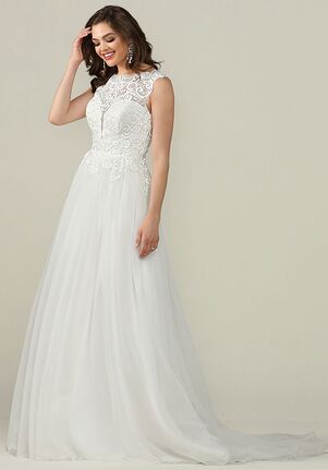 Avery Austin Gabriella A-Line Wedding Dress