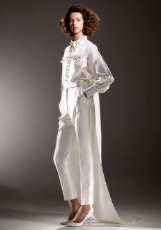 Viktor&Rolf Mariage IMMACULATE DRAMATIC TRAIN BLOUSE Sheath Wedding Dress