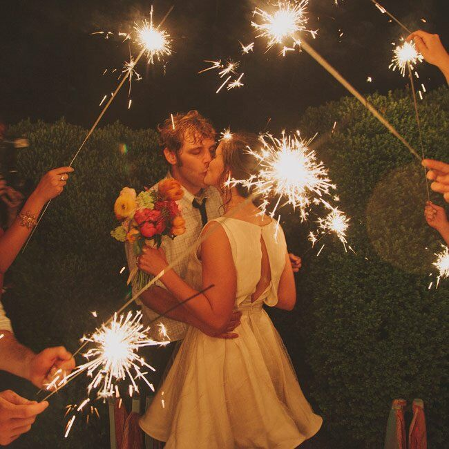 Underneath the Sparklers
