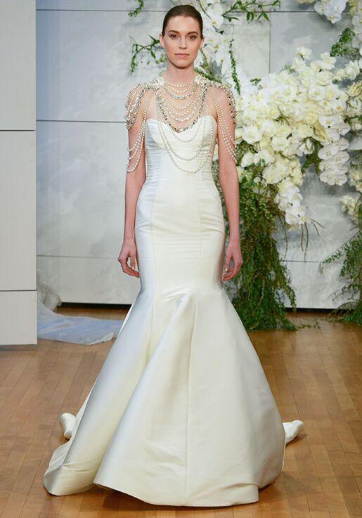 Monique Lhuillier Divine Mermaid Wedding Dress