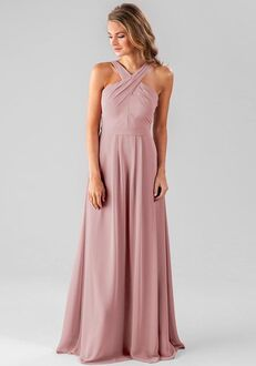 Kennedy Blue Elena Halter Bridesmaid Dress