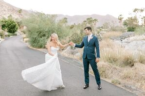 Whimsical Couple at The Frederick Loewe Estate in Palm Springs, California