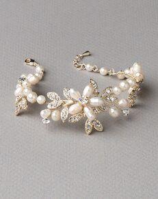 Dareth Colburn Dahlia Freshwater Pearl Bracelet (JB-4818-G) Wedding Bracelet photo