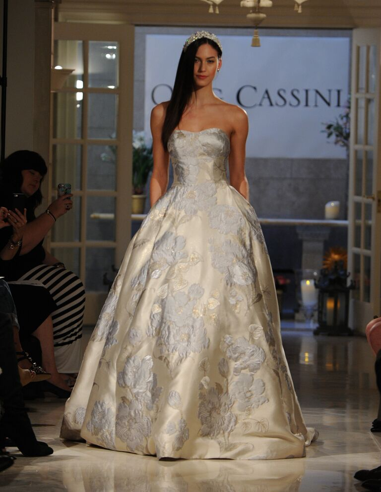 Oleg Cassini Fall 2016 Collection Bridal Fashion Week Photos