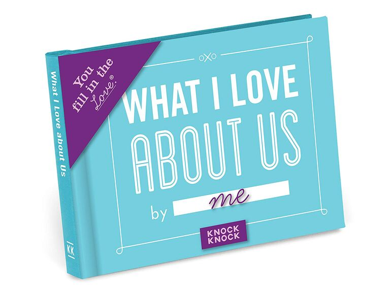 Love journal 5 year anniversary gift idea for her