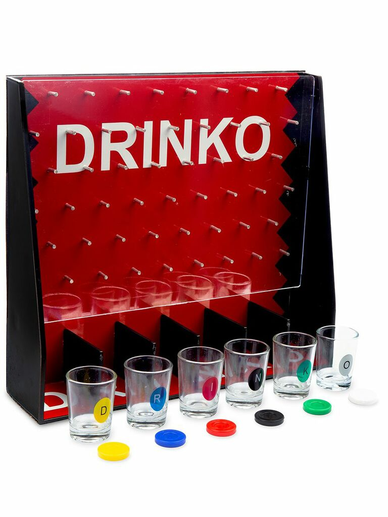 Drinko drinking game set for bachelorette party