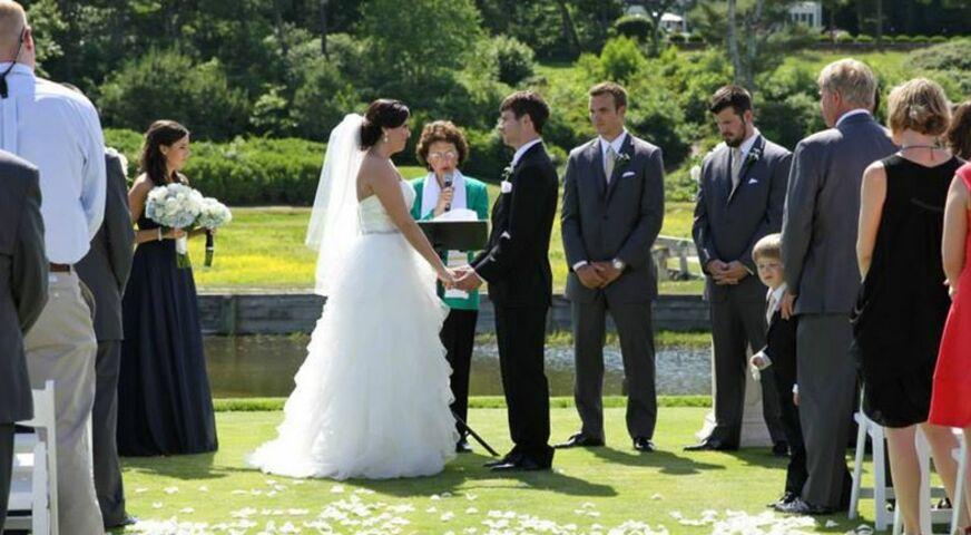 Weddings In Cape Cod Rev Patricia Conte Nelson