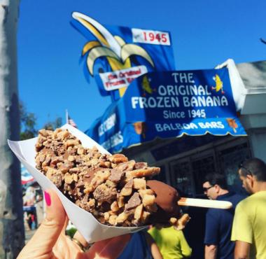 Sugar 'n Spice the Original Frozen Banana & Balboa Bars
