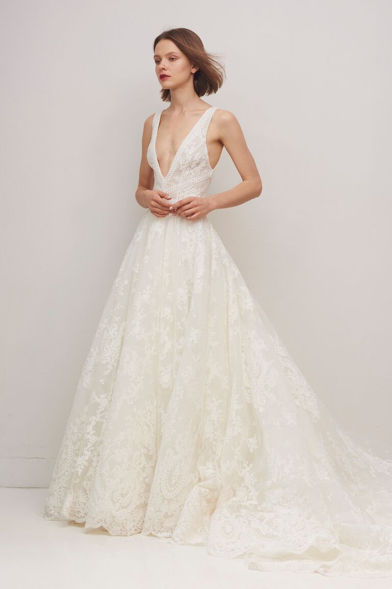 Rivini by Rita Vinieris lace ballgown