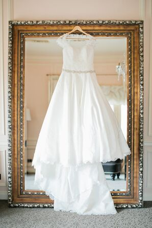Classic, Feminine, Romantic Wedding Gown