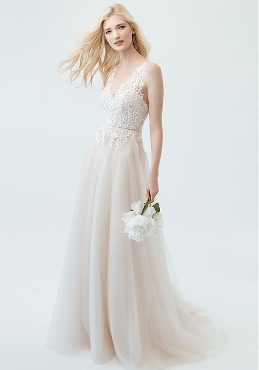 Jenny By Yoo Savannah 1754b A Line Wedding Dress