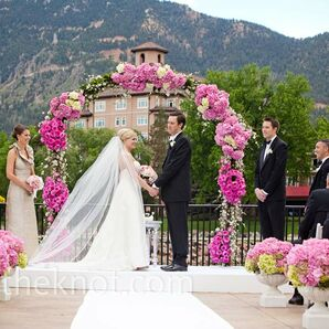 Outdoor Mountain Ceremony