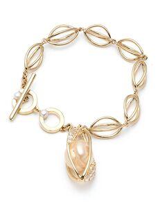 Carolee Jewelry CLB00350G130 Wedding Bracelet photo