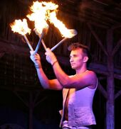 Cincinnati, OH Fire Dancer | Gabriel the Fire Sage