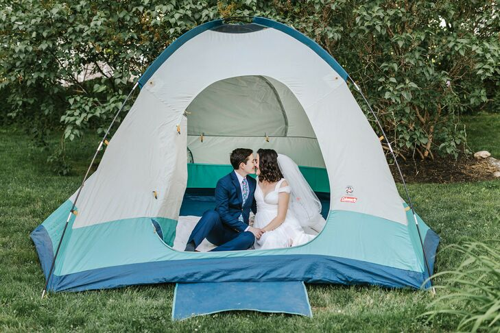 Prior to the COVID-19 pandemic, Rose and Jessie were planning a three-day wedding weekend at Camp Cody at Lake Ossippee in New Hampshire for 250 loved