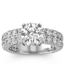 Shane Co. Classic Princess, Asscher, Cushion, Emerald, Heart, Marquise, Pear, Radiant, Round, Oval Cut Engagement Ring