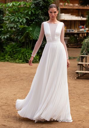ZAC POSEN FOR WHITE ONE EVA Mermaid Wedding Dress