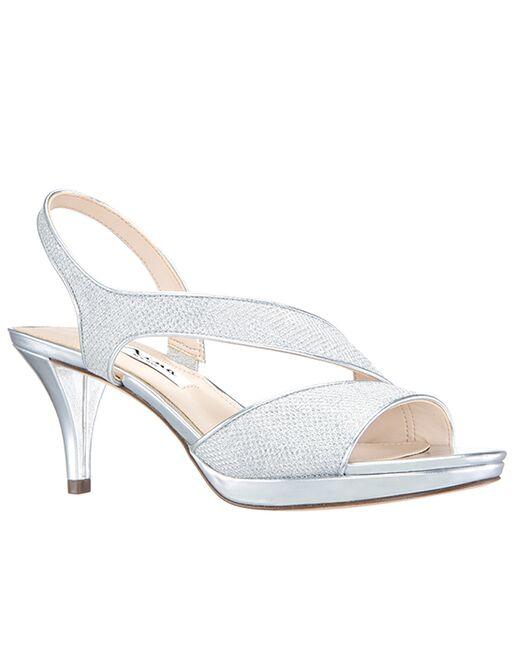 Nina Bridal Nasreen_Silver Silver Shoe