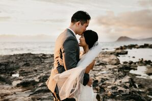 Modern, Playful Hawaii Wedding