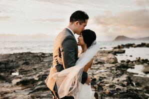 Modern, Playful Hawaii Wedding