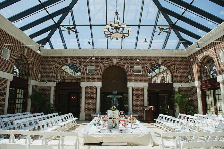 Atrium Ceremony Manor House Venue
