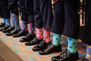 Colorful Polka Dot Socks