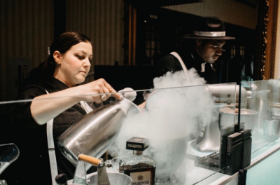 Frozone Nitrogen Ice Cream & Dragon's Breath