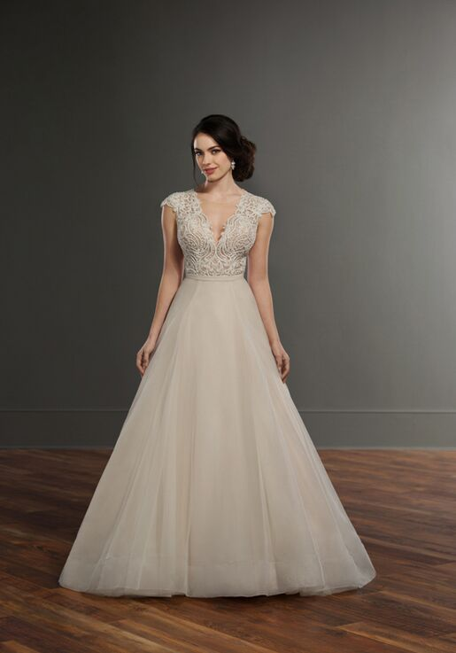 Martina Liana Bayley Selby Wedding Dress The Knot