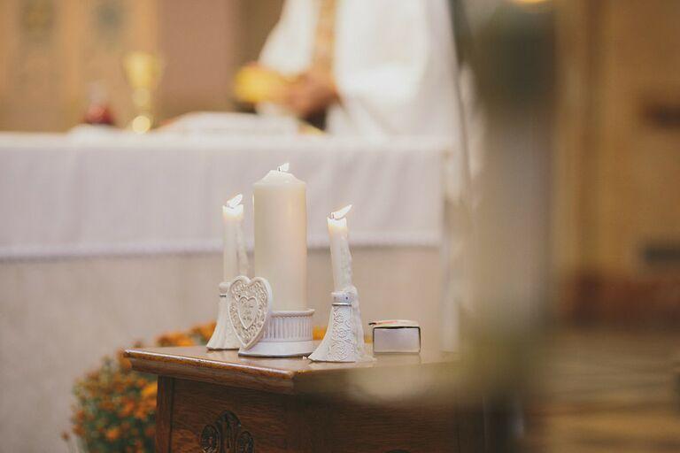 Unity candle for Filipino wedding ceremony