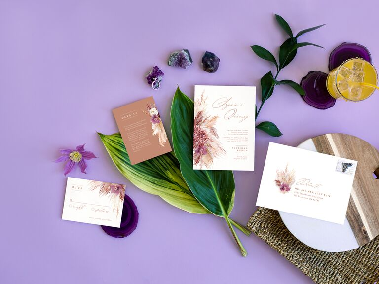 how to choose wedding stationery design