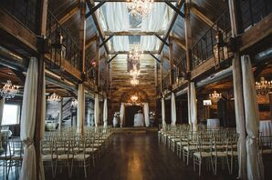 Rustic, Elegant Ceremony at Southwind Hills Venue