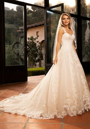 Casablanca Bridal 2383 Carmella A-Line Wedding Dress