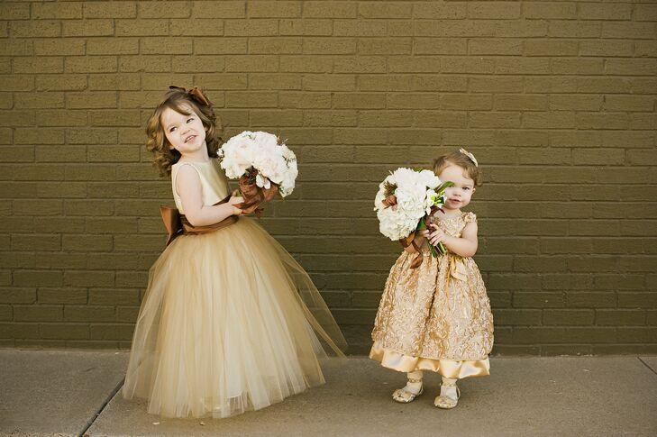 Copper Flower Girl Dresses
